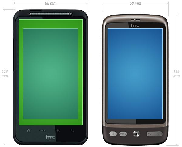 HTC Desire HD vs HTC Desire