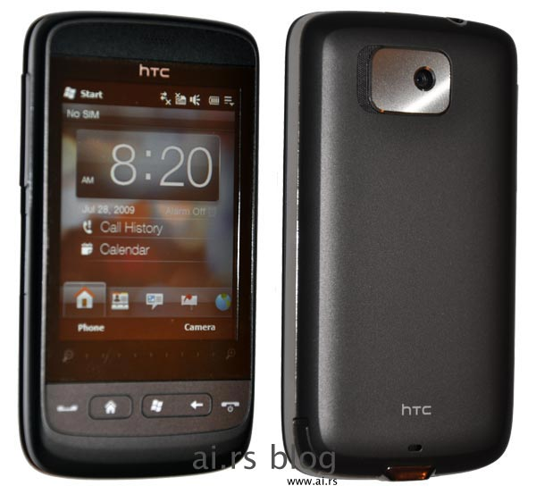 HTC Mega front back picture