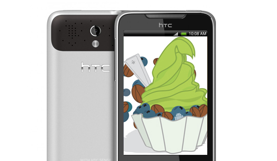 HTC Legend with Froyo