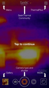 SeekThermal iOS app