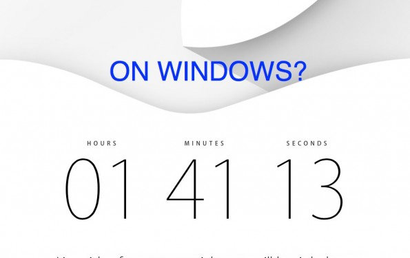 How to watch apple event on windows