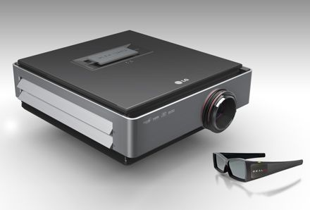 LG CF3D Full HD 3D projector